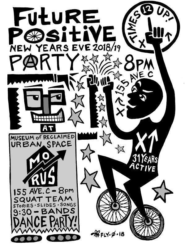 future positive new year's party 2018-2019