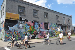 Street Art Bike Ride