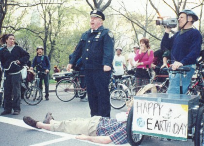 Earth Day Ride in Central Park