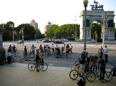 Brooklyn Critical Mass 2004