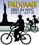 BikeSummer 2003 in NYC.