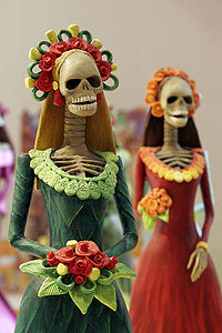 Catrinas- Popular figures of Day of the Dead