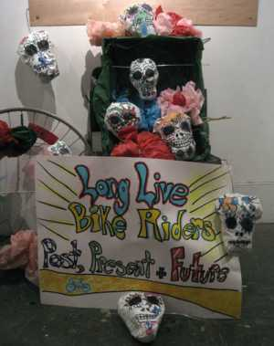 Props for Day of the Dead ride