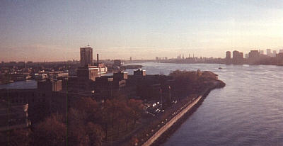 The East River.
