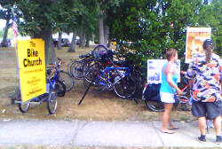 Monmouth County Clearwater Festival valet bike parking
