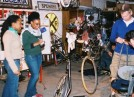 Youth: Learning bike repair and maintenance.