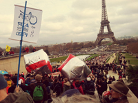 Time's Up At COP21 March