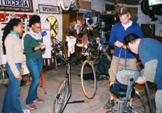 Bike workshop. Tubular.
